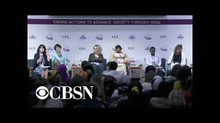 Female leaders gather in Tokyo amid concerns women aren't being represented internationally
