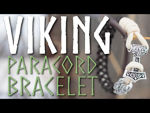 Thor's Hammer Viking Bracelet Paracord Tutorial