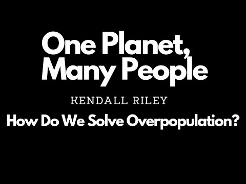 One Planet, Many People - by Kendall Riley