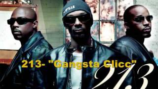 213 - 213 The Gangsta Clicc + Lyrics (2004)