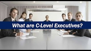 What are C-Level Executives?