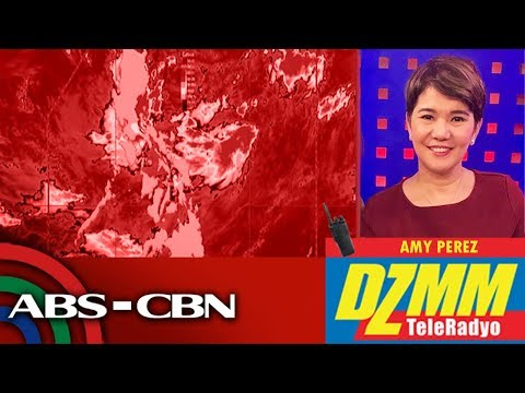 [ABS-CBN]  Marilyn threatens Luzon, Visayas with heavy rains | DZMM