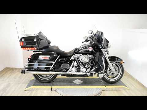 2007 Harley-Davidson FLHTC ULTRA CLASSIC in Wauconda, Illinois - Video 1