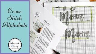 Cross Stitch Alphabets - How To Make Custom Cross Stitch Patterns