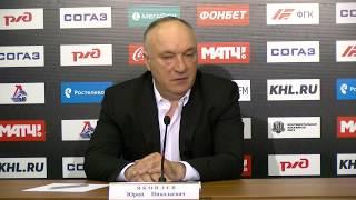 Пресс-конференция Юрия Яковлева - 3 апреля 2018 года