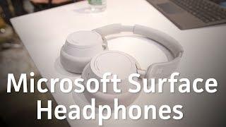 Microsoft Surface Headphones hands-on