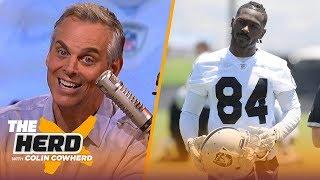 Colin talks AB's helmet drama, says Dak is making a mistake 'betting on himself' | NFL | THE HERD