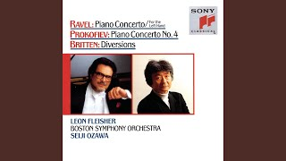 Diversions for Piano Left Hand and Orchestra, Op. 21: Theme. Maestoso