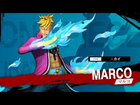 One Piece : Pirate Warriors 4 : Gameplay Marco (JP)