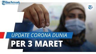 Update Corona Dunia per 3 Maret 2021: Total 115,3 Juta Terinfeksi Covid-19, AS Catat 29 Juta Kasus