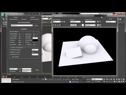 3ds Max Ambient Occlusion Render Tutorial