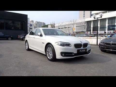 2014 BMW 520d Start-Up and Full Vehicle Tour