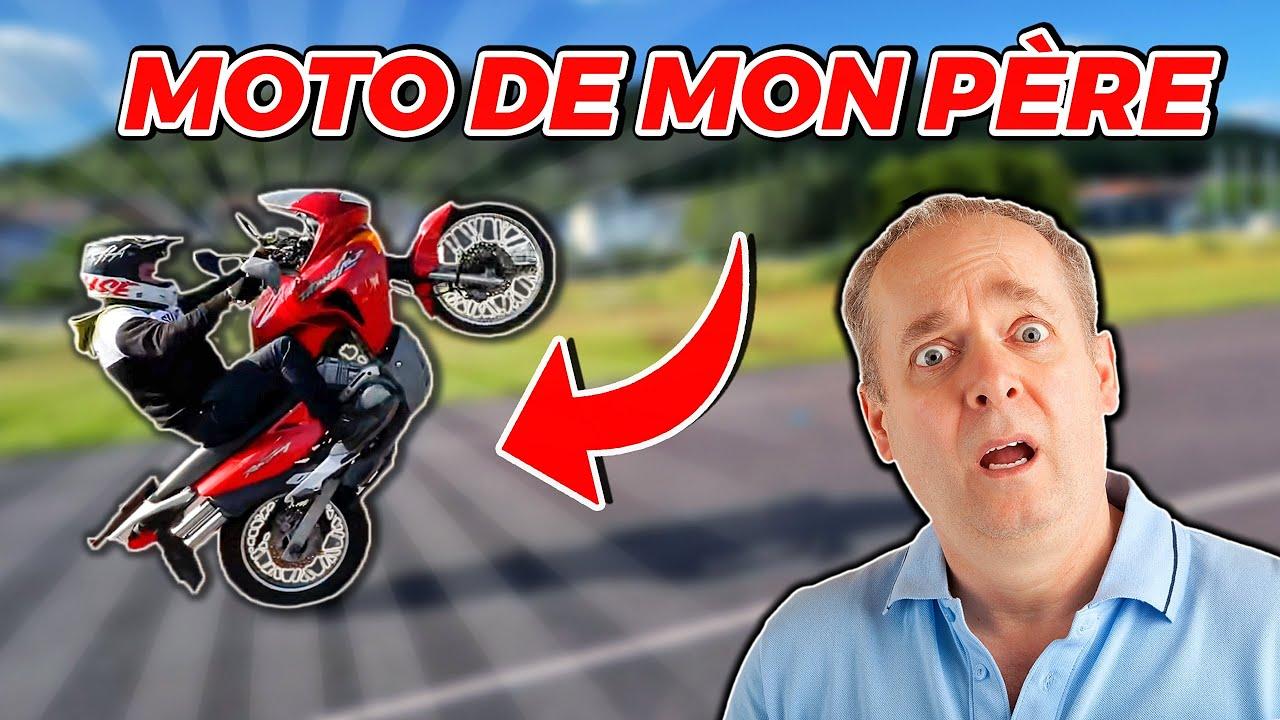 JE LÈVE LA MOTO DE MON PÈRE ! 😂