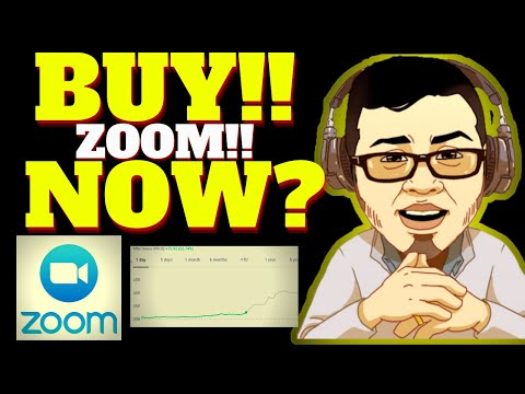 GOOD TIME TO BUY ZOOM STOCK?? UP BIG (ZM STOCK EARNINGS ANALYSIS)