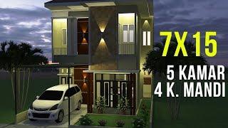 ukuranfuzziblog: desain rumah ukuran 7x15