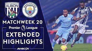 West Brom v. Manchester City | PREMIER LEAGUE HIGHLIGHTS | 1/26/2021 | NBC Sports