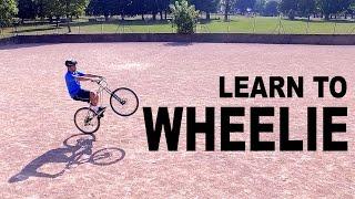 Learn To Wheelie || Learn Quick
