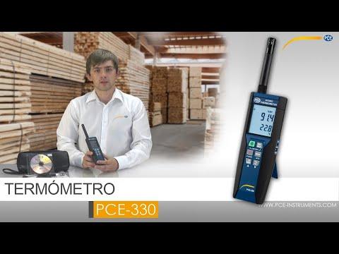 Termómetro PCE-330 para temperatura y humedad ambiental | PCE Instruments