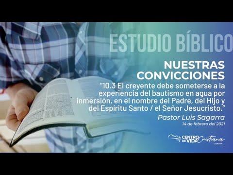 Nuestras Convicciones: 10.3 El creyente debe someterse a la experiencia de  bautismo en agua por inmersión, en el nombre del padre del Hijo y del Espíritu Santo / El Señor Jesucristo | Centro de Vida Cristiana