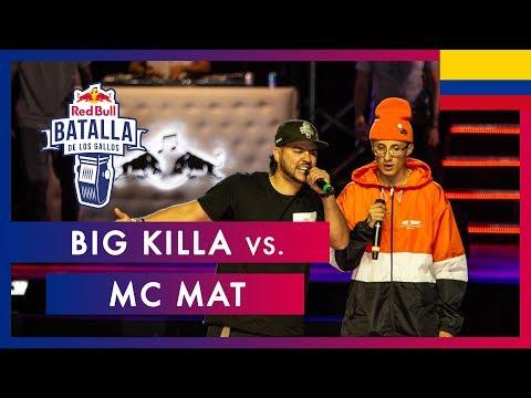 BIG KILLA vs MC MAT - Octavos | Final Nacional Colombia 2019