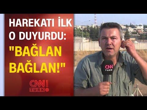 Barış Pınarı Harekatı'nı dünyaya duyuran CNN TÜRK muhabirinin