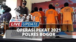 LIVE UPDATE: Operasi Pekat 2021 Polres Bogor, Prostitusi Masih Marak saat Ramadan