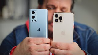 iPhone 12 Pro Max vs OnePlus 9 Pro camera comparison