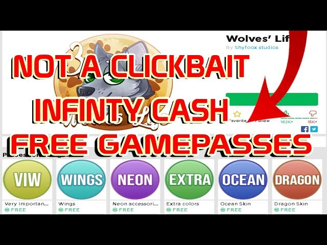 How To Get Free Wings In Wolves Life 3