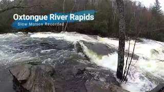 This is wicked Want to destress Check out the Oxtongue River rapids