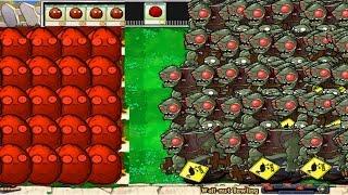 Plants Wall Nut  vs All Giga-Gargantuar Epic Hack PvZ 100%