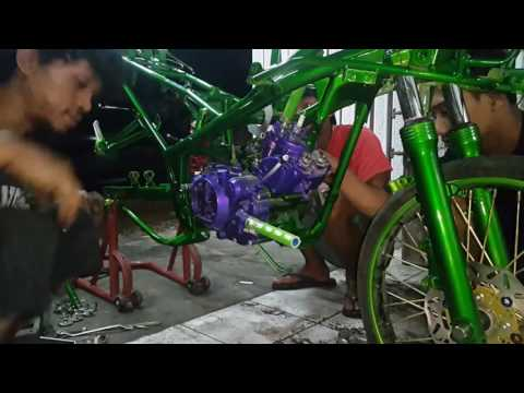 Video How to Painting | Modif Kawasaki Ninja RR