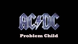 AC/DC - Problem Child (Backing Track)
