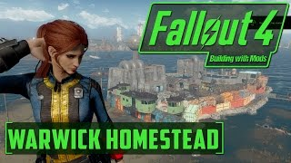 Fallout 4 - Building with Mods - Warwick Homestead