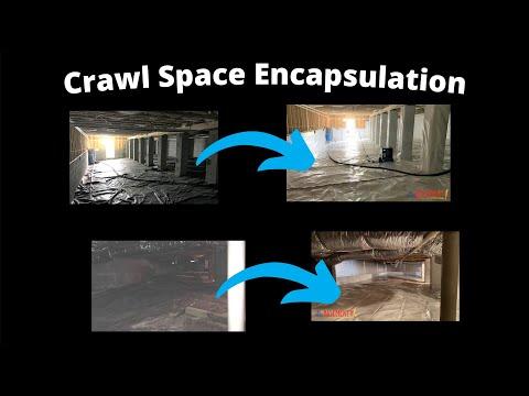 Crawl Space Encapsulation Walkthroughs