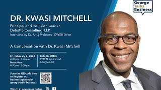video - George Talks Business with Kwasi Mitchell