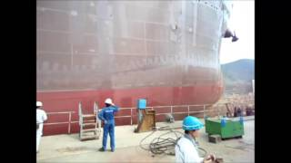preview picture of video 'Launching Ocean Lady at COSCO Zhoushan Shipyard 10/22/2012'