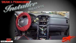 A Honda Pilot in for a refresh! Installer Diaries 127
