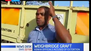Malindi transporters demonstrate against KNHA over corruption at weigh-bridges