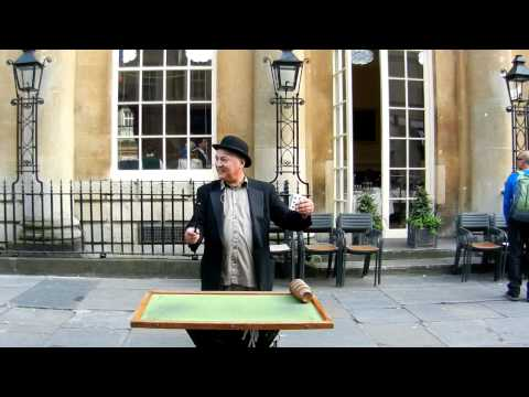 Gazzo, Street Magic, Bath England