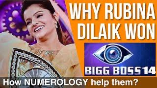 Why Rubina Dilaik Won Bigg Boss 14 (Numerology) Official Video #shorts
