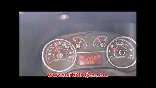Fiat Doblo Hidrojenle yakıt ölçümü