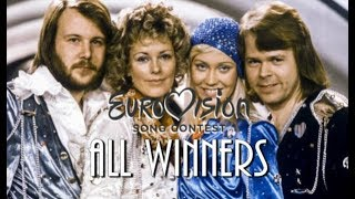 Eurovision All Winners (1956 - 2018)