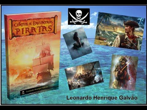 Livro Contos e Encontros Piratas