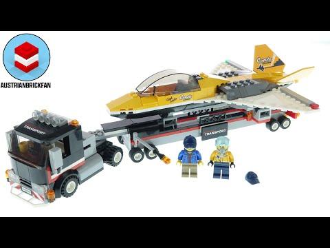 Vidéo LEGO City 60289 : Le transport d'avion de voltige