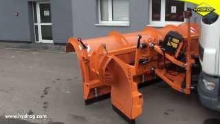 Pług Autostradowy Hydrog PLA-4500 - Hydraulicznie Rozkładane Poszerzenie