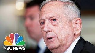 Defense Secretary Jim Mattis, Joint Chief Joe Dunford Testify At House Hearing | NBC News