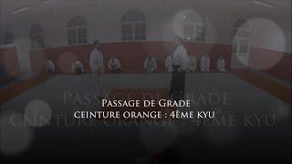 preview picture of video 'Ac.A.Ma. Créteil Le Cercle - Kömöri Ryu - Passage de grade 4ème kyu (ceinture orange)'