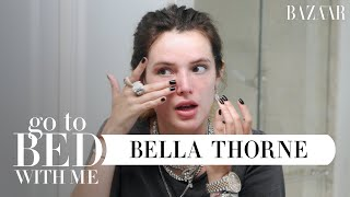 Bella Thornes All-Natural, DIY Nighttime Skincare Routine | Go To Bed With Me | Harpers BAZAAR