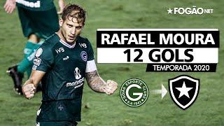 Reforço do Botafogo, Rafael Moura marcou 12 gols pelo Goiás na temporada 2020 ⚔️🔥