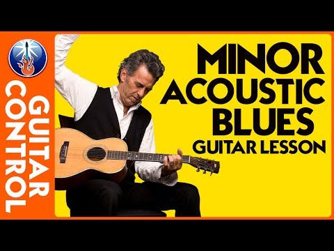 Minor Acoustic Blues Guitar Lesson